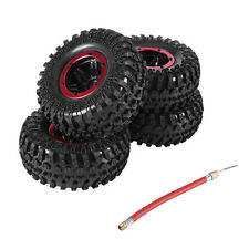 "1/10 RC Off Road D90 Crawler 2.2"" Air Inflatable Pneumatic Tire W/Alloy Beadlock"