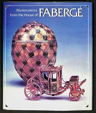 """Masterpieces from the House of Faberge"" Von Solodkoff 1984 HB Signed by Faberge"
