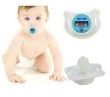 Portable Digital Dummy Soother Pacifier Baby Toddler Child Oral Thermometer hot