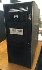 HP Z800 Intel Xeon E5620 8x 2,40GHz 1TB 24GB Nvidia Quadro 4000 W7