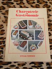 REVUE - Charcuterie et gastronomie n° 59, avril 1984 - Spécial terrines