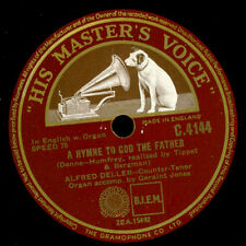 ALFRED DELLER -COUNTER TENOR- A Hymne to God the Father/ An Evening 78rpm  G3582