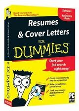 RESUMES & COVER LETTERS FOR DUMMIES - NEW & UNOPENED