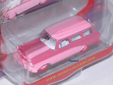Johnny Lightning Limited Edition 1 of 2500 Pink Fever Rambler American Wagon