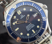 Omega Seamaster 2531.80 James Bond Auto Box/documenti di garanzia eccellente 2006YR