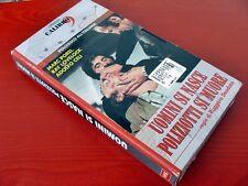 VHS.12) UOMINI SI NASCE, POLIZIOTTI SI DIVENTA - MARC POREL (CALIBRO 9)