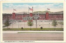 Play Grounds and C.F.J. Factory in Johnson City NY Postcard
