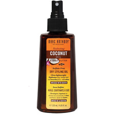 Marc Anthony Hydrating Coconut Oil - Shea Butter Dry Styling Oil 4.05 oz (2pk)