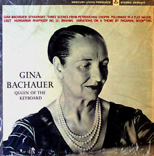 GINA BACHAUER - QUEEN OF THE KEYBOARD - MERCURY LP 90349 - IN SHRINK WRAP