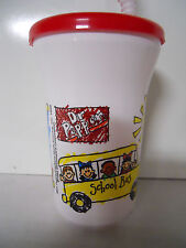 1996 McDonald's Dr Pepper Field Trip Cup w/ Lid and Straw