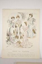 Mode de Paris 1902, journal des demoiselles , robes du Soir