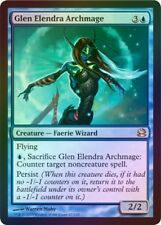 MTG magic FOIL *GLEN ELENDRA ARCHMAGE* Modern Masters 2013 Blue Faerie Rare