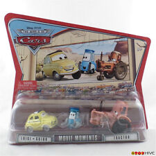 Disney Pixar Cars Luigi Guido and Tractor Movie Moments World of Cars WoC series