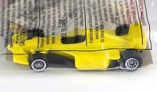 Hot Wheels Promo McDonalds Happy Meal Jordan Racer #5 Yellow w/Stickers 2000 NIP