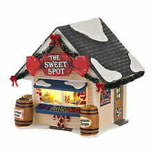 Department 56 Snow Village THE SWEET SPOT Candy Store BNIB 4030738 Dept 56