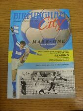 05/05/1990 Birmingham City v Reading  (Light Marking). Trusted sellers on ebay b