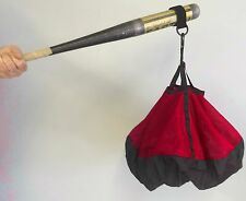 Bat Chute by Chute Trainer swing aid increases strength and bat speed Red