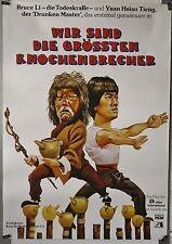 (A27) Gerollt/Filmplakat WIR SIND DIE GRÖSSTEN KNOCHENBRECHER - 1980 Blind Fist