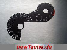 BMW R1200GS LC ab 2013 einlege Tachoscheibe Km/h Gauge Tacho Dial Umskalierung 3