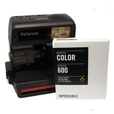 Polaroid 636 Camera with Impossible 600 Colour Film