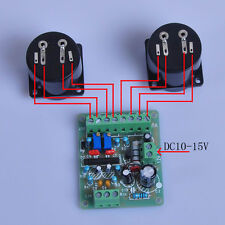 dc 12V Power Amplifier VU Meter Driver Board DB Audio Level Meter for TA7318P