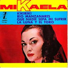 """7"""" EP MIKAELA la luna y el toro SPAIN 1964 ZAFIRO que nadie sepa mi sufrir"""