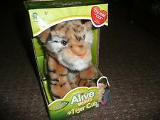 """WOWWEE ALIVE MINIS CUB INTERACTIVE 8"""" SOFT TOY/tiger cub/boxed never used"""
