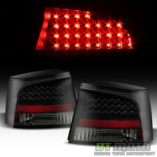 Black Smoke Replacement 2006 2007 2008 Dodge Charger LED Tail Lights Brake Lamps
