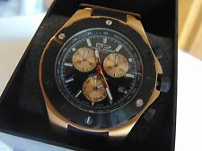 Daniel Steiger 45mm Endeavor Swiss Mov't 18K Fused Rose Gold SS Watch MUST SEE!!