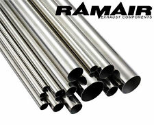 "RAMAIR 500mm 3"" Pulgadas 76mm 304 Escape De Acero Inoxidable Tubos escape Recto"