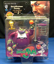 Space Jam Swackhammer Tweety with Hangtime Hoop Cage Action Figure