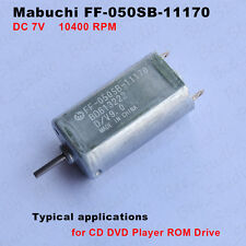 MABUCHI FF-050SB-11170 DC 7V 10400RPM Micro Motor for CD Player Electric Shaver