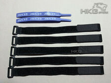 5x Long Battery Strap Ties + 2x Hook & Loop Strap for RC Quadcopter Heli.