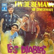 """Los Diablos(7"""" Vinyl)Fin De Semana-Odeon-J 006 20 677-Spain-VG/VG"""