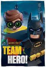 XL Nuovo Lego Batman Film Super Soffice Coperta Lana Bambini Ragazzi Copriletto