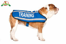 Friendly Dog Collars TRAINING Medium Reflective Weather Resistant Coat