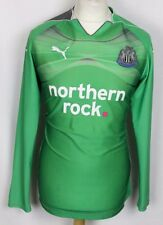 NEWCASTLE UNITED GOALKEEPER FOOTBALL SHIRT 10-11 PUMA MENS MEDIUM
