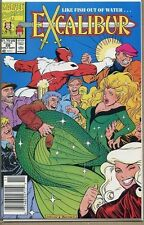 Excalibur 1988 series # 28 UPC code near mint comic book