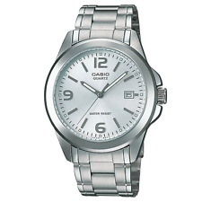 CASIO MEN'S MTP1215A-7A ANALOG STAINLESS STEEL WATCH