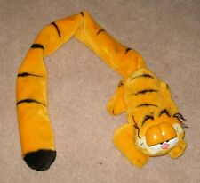 VINTAGE PLUSH GARFIELD  1978 PAWS RARE  30 INCH TAIL NEW OLD STOCK