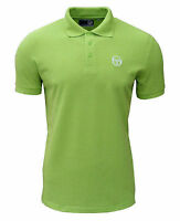 Sergio Tacchini Men's Heigham Polo T Shirt Lime Green