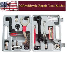 29PC Bicycle Cycling Maintenance Repair Hand Wrench Bike Tool Kit Set Box Case Y