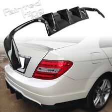Carbon Fiber Mercedes-Benz W204 LCI Coupe Sedan C63AMG Rear Bumper Diffuser