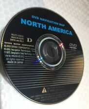 2002 2003 2004 Toyota 4Runner Sienna XLE GEN2-3 Navigation DVD Map CD U.S Canada