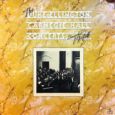 "Duke Ellington Carnegie Hall Concerts LP 12"" 33rpm US France gatefold vinyl (vg)"