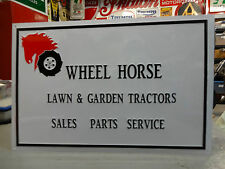 WHEEL HORSE DEALER SIGN PARTS & ACCESSORIES,TRACTOR ,MOWER