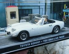 007 JAMES BOND Toyota 2000 GT - You only live twice 1:43 BOXED CAR MODEL Connery