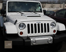 Jeep Wrangler Hood Scoop Ram Air Style With Grille Insert PRE PAINTED HS003