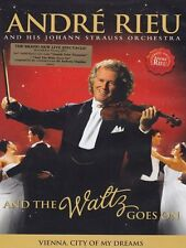 ANDRE RIEU : AND THE WALTZ GOES ON   -  DVD -  Region free  UK - New