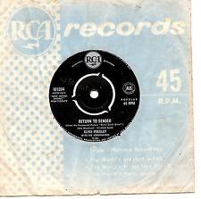 """ELVIS PRESLEY - RETURN TO SENDER - 7"""" 45 VINYL RECORD"""